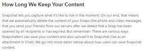 Snapchat Investigations
